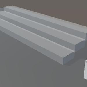 VRCワールド用収納式ひな壇