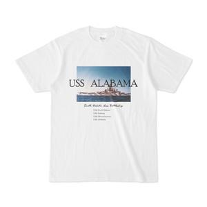 戦艦アラバマ(BB-60) Tシャツ