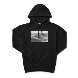 駆逐艦ブラック プルオーバーパーカー