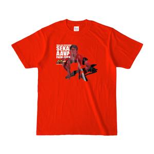せかいああばTシャツ(RED AAVA)