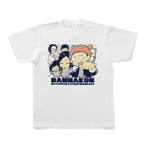 パチ7コミック ダンナくんTシャツ(全員集合 白)