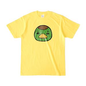 パチ7コミック ピノコTシャツ(編集部カモ原_イエロー)