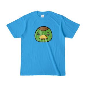 パチ7コミック ピノコTシャツ(編集部カモ原_ターコイズ)