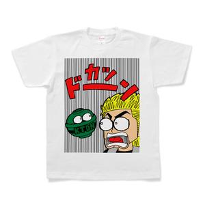 【期間限定】天草ヤスヲ CR今日もカツ丼コラボTシャツ(カツドーン_白)