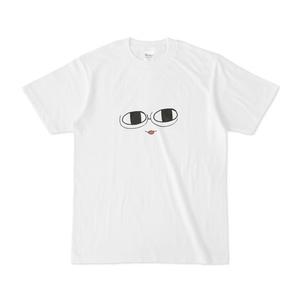 パチ7コミック まろっこTシャツ(セリカ 白)