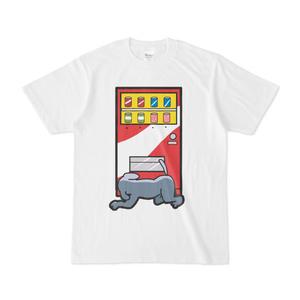 パチ7コミック 人間まおTシャツ(犬尾君 白)
