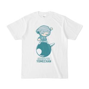 パチ7コミック ダンナくんTシャツ(豪運ヨメチャン 白)