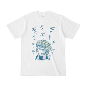 パチ7コミック 天草ヤスヲTシャツ(ぶくぶく 白)