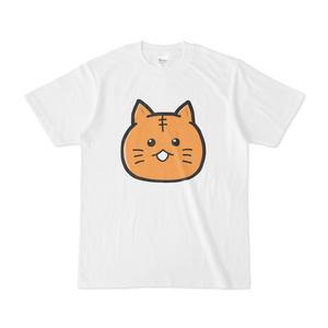 パチ7コミック 人間まおTシャツ(にゃんぽ 白)