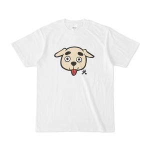 パチ7コミック 犬Tシャツ(犬 白)