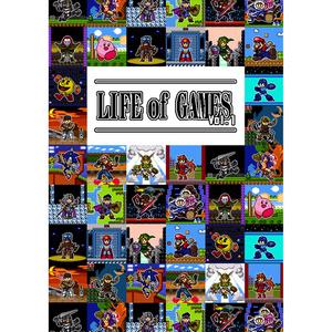 ゲームキャラドット絵画集「LIFE of GAMES Vol.1」