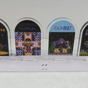 ゲームキャラドット絵アクリルジオラマ②-5