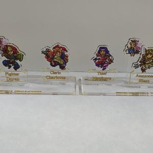 3個1セット:聖剣伝説3ドット絵アクリルジオラマ
