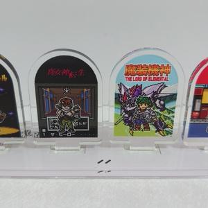 ゲームキャラドット絵アクリルジオラマ③-3