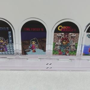 ゲームキャラドット絵アクリルジオラマ③-2