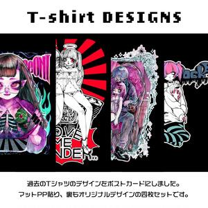 T-shirt DESIGNS[POST CARD SET]