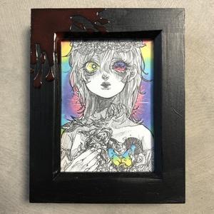 [ミニ原画][性]少女の信教回路「華」