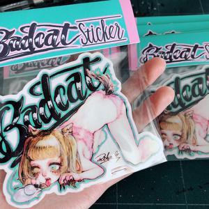 Badcat STICKER
