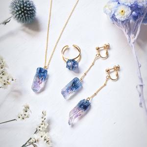 【あんしんBOOTHパック】Matsuno gemstone 鉱物モチーフアクセサリー