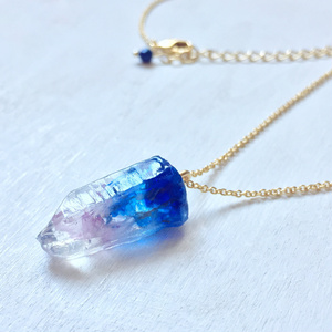 Matsuno gemstone 鉱物モチーフネックレス