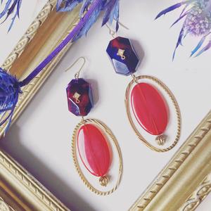 Aomine/Kagami Color big earrings