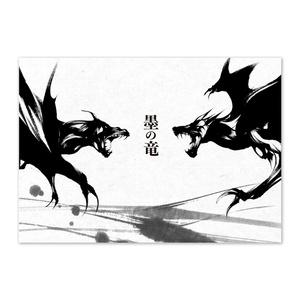 イラスト本 / 墨の竜