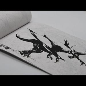 墨の竜【イラスト本】