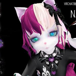 VRChat向けオリジナル3Dモデル『NANAMI』