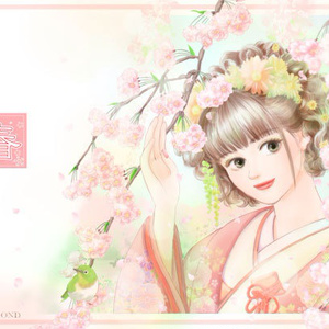 春 ポストカード