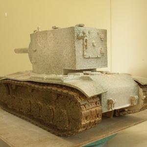 pottery tank「KV-2」