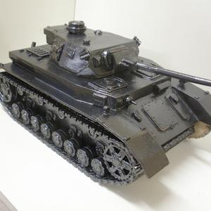 信楽焼 陶器製 「Ⅳ号戦車G型」