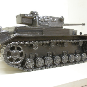 pottery tank「Pz.Kpfw.IV」