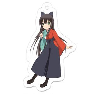 うらら迷路帖_紺(アクリルキーホルダー)