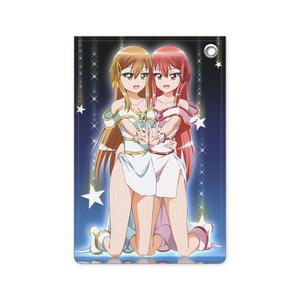 パスケース_皆月ひかる&みかげ(セレーネドレスVer.)