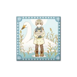 神鳥<カムイカル>缶バッチ