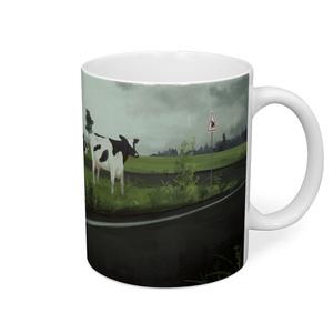 牛のマグカップ