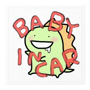 BABY IN CAR(かいじゅうが乗ってます)