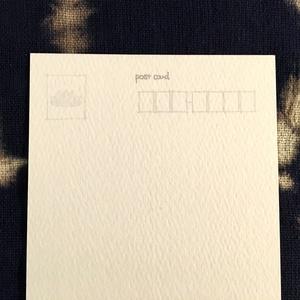 特殊紙ポストカード