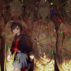 「那由多の幕間にて」-仏教系創作イラスト本(自宅発送)