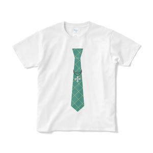 独歩のネクタイTシャツ