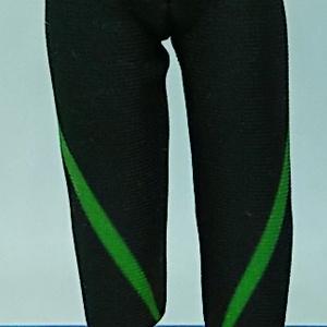 オビツ11用 ストレッチパンツ(緑)