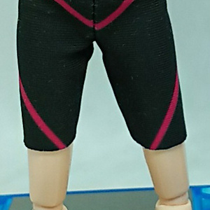 オビツ11用 ストレッチパンツ(ピンク)