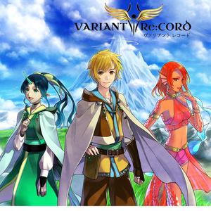 【無料DL】「VARIANT Re:CORD」 メインビジュアル壁紙