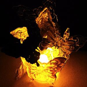 蝶々ランプ