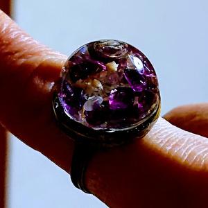 ガラスドームの指輪
