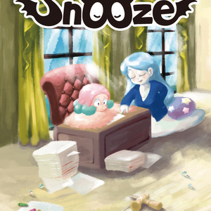 【A5/4コマ漫画】snooze 3