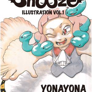 【A5/フルカラーイラスト】Snooze Illustration vol.1