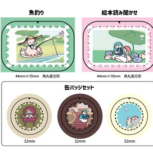 【シール】snooze 建国記念切手シリーズ【セット注文もこちらから】