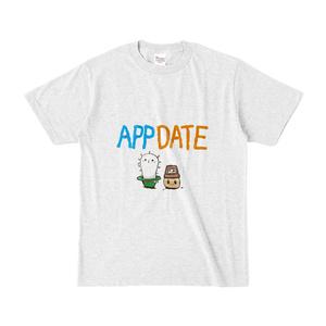 APPDATE Tシャツ(ざわ×ちくわ)