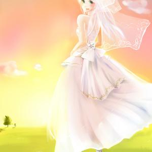 夕焼けの花嫁